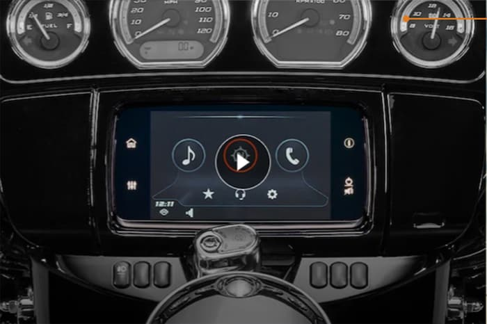 GTS Infotainment System for 2020 Touring H-D Motorcycle