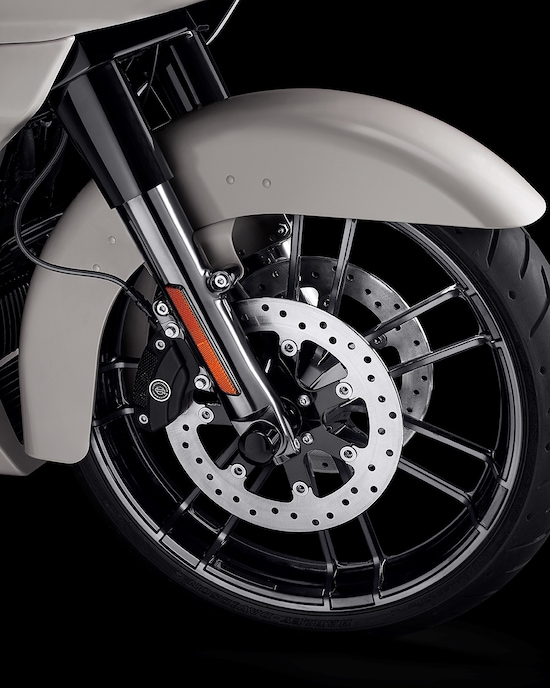 H-D 2020 CVO Road Glide motorcycle Knockout Wheels