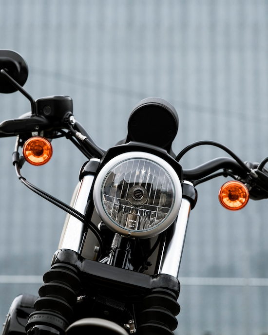 2020 Iron 883 motorcycle Drag style handle bars