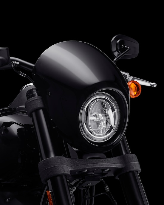 Front light on a 2020 Low Rider S motorcycle