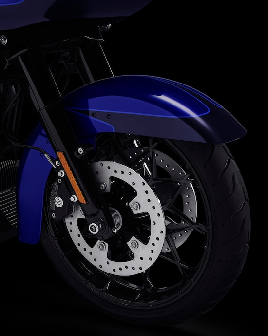 Front talon wheel on a 2020 Road Glide Special Motorcycle