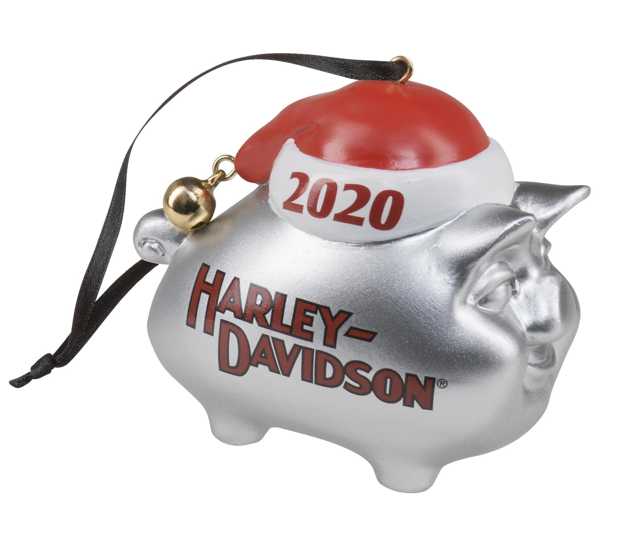 2020 Hog Ornament 98772 21vx Harley Davidson Usa