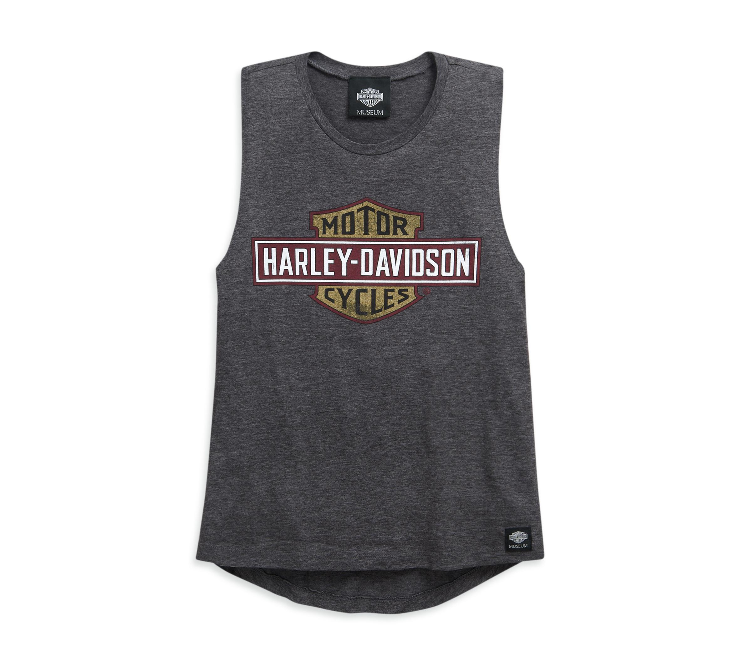 New Harley Davidson Women/'s Ladies/' Plaid Sleeveless Tank Top
