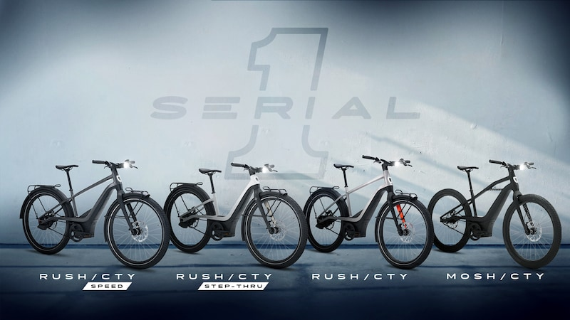 Serial 1 eBicycles, Powered by Harley-Davidson
